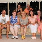 "Meine liebe Gastfamilie Kraus:Greg, Ingrid, ""Oma Gitty"", Tammy, Maddi, Lochlan and Opa"