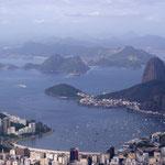 Blick vom Cocovado über Rio