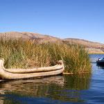 Fischerboote auf dem Titicacasee