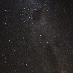 Die Milchstraße ist hier besonders gut zu sehen