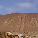 Der Kerzenleuchter - ähnlich mysteriös wie die Nazca-Linien