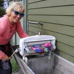 Damit die Wäsche schneller trocknet: Wie in alten Zeiten