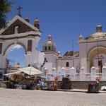 Die Kirche von Copacabana