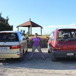 Die zwei Toyotas von Heike und mir, die seit 4 Wochen unser Zuhause sind