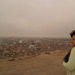Blick über Lima