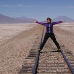 die Eisenbahnstrecke von Chile nach Bolivien - Ein unglaubliches Gefühl an Weite