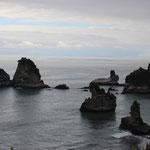 Steinformationen an der Westküste