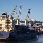 Der Hafen in Puerto Montt