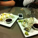 Sushi in allen varianten