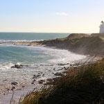 ... dennoch ein schöner Spaziergang an der windgespeitschten Küste.