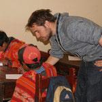 Unterricht in Huilloc