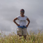 Evelyn, meine private Rapanui-Reiseführerin