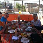 Die französische Familie aus Brest Emilie, Ludo, Nicole und Jean-Pierre