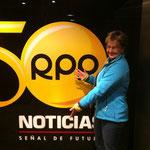 Besuch bei der Radiostation Rpp