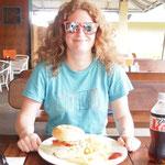 Anicas erster Krokodil-Burger
