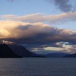 Abendstimmung in den Fjorden