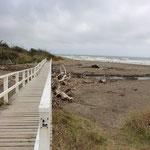 Der Strand von Paraparamau