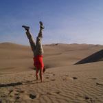 Spaß im Sand und Sandboarding
