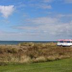 Auch in der schönen Colac Bay darf man frei campen