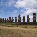 Tongariki - die 15 Moai