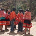 Kinder aus Huilloc (3800m)