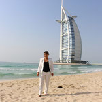 Am jumeirah Beach