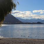 Wanaka - ein ganz ruhiger Ferienort, kein Vergleich zu Queenstown