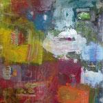 Paradiesinseln, 100 x 120 cm, Acryl auf Leinwand, 2014, Preis 1150,-