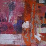 Bella Donna, 100x140 cm, Collage auf Leinwand, 2013, Preis 1650,-