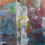 Strickliesel, 110 x 160 cm, Acryl auf Leinwand, 2014, Preis 1750,-
