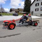 Bucher KT10 mit BMW - Motor