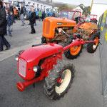 BUCHER K6 seltener Mäher Haube wie BUCHER Traktor