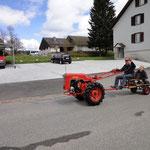 Bucher KT10 mit Sachs Diesel