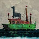 「危険な航海」Photoshop