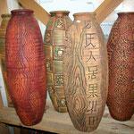 ваза напольная керамика