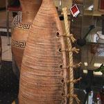 ваза напольная керамика Бутыль