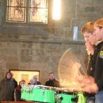 Orgel trifft ... Schlagzeug!