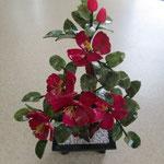 ★アゲート薔薇鉢植え ¥5,800