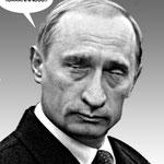 Vladímir Putin.-cartoonja.com FEDE.