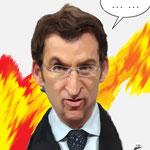Feijoo. P.P. de Galicia.- cartoonja.com FEDE JF