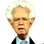 Mario Monti.- cartoonja.com FEDE JF