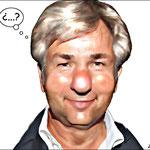 Klaus Wowereit (Alcalde de Berlín).- cartoonja.com FEDE