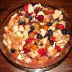 Salade de fruits printanière