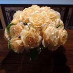 Roses saumonée
