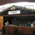Waffelbäckerei auf dem Weihnachtsmarkt 1