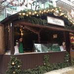 Waffelbäckerei auf dem Weihnachtsmarkt 2