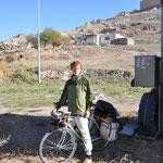 Matthias fährt weiter zur Grenze in den Iran