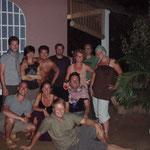Von links nach rechts/ oden: Mathiz, Annik, Babs, Semo, Anett, Ole, Amelie unten: Till, Connz, Till, Kalle (orange), Olli