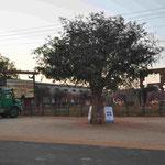 Der Parkplatz am Freizeitpark