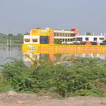 Auch im Bundesstaat Uttar Pradesh gab es heftige Überschwemmungen.